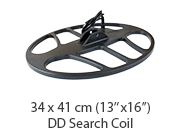 Waterproof Double-D search coil